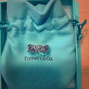 Tiffany&Co Paloma Picasso loving heart band ring